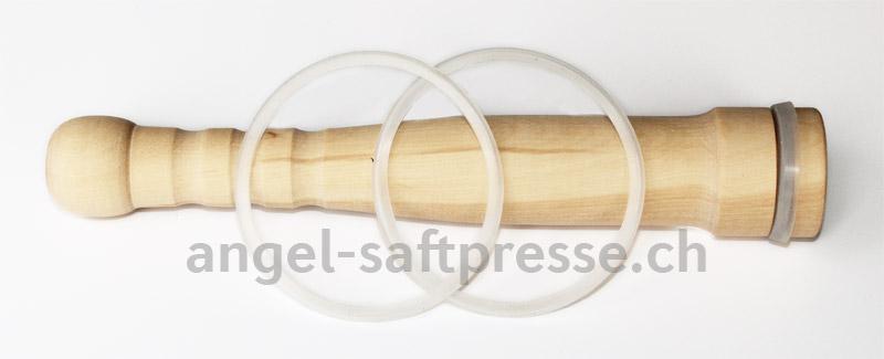 Angel-Holzstopfer mit Dichtungsring