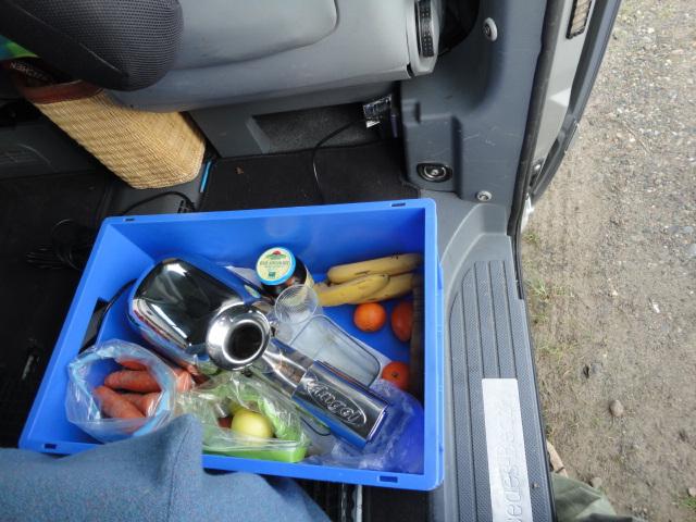 Frische Säfte im Auto herstellen